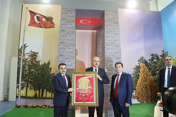 Kültür ve Turizm Bakanı Kurtulmuş, Çanakkale standını inceledi