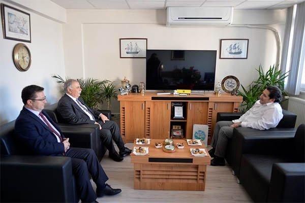 Başkan Gökhan'dan Kayalı'ya iade-i ziyaret…