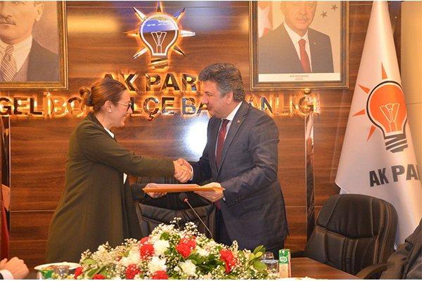 Başkan Karadağ'a yoğun destek
