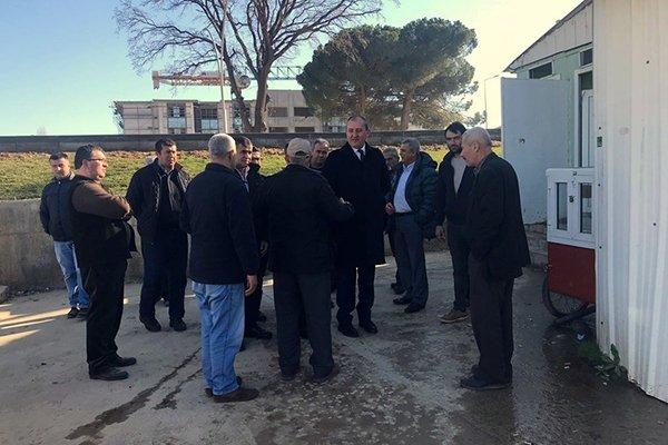 Biga İçdaş Garajı yenileniyor