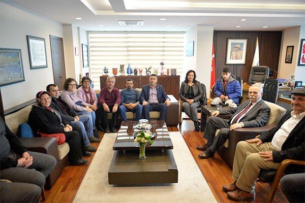 CHP Ayvacık İlçe Yönetiminden Başkan Gökhan'a ziyaret…
