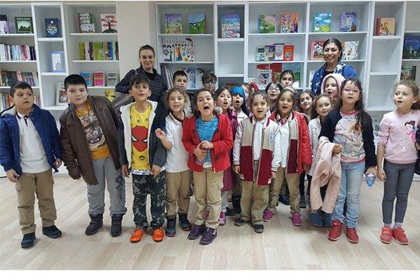 Çocuk Kültür Evi konuklarını ağırladı