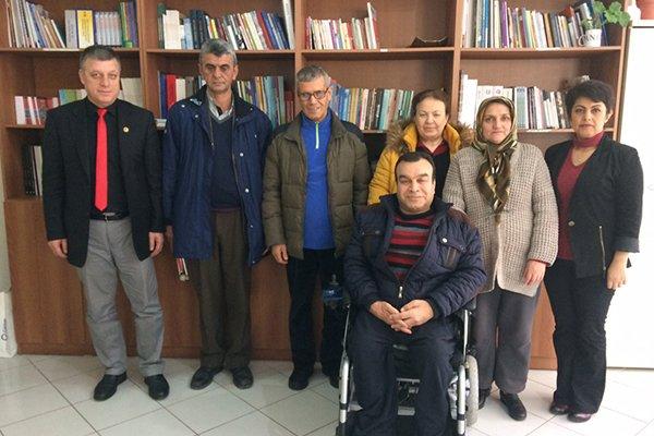 Engelliler Meclisinde Başkan Remzi Bolaman