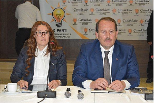 Karacan STK temsilcileriyle buluştu