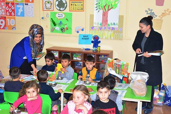 Lapseki Belediyesi'nden eğitime destek