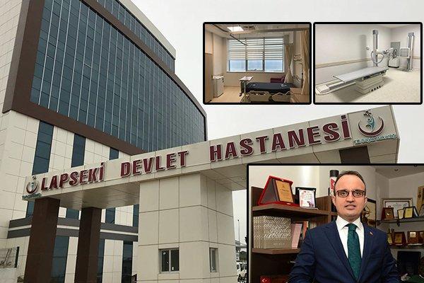 Marmara bölgesinin sağlık üssü Çanakkale olacak