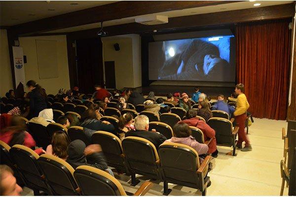Öğrencilerin sinema keyfi