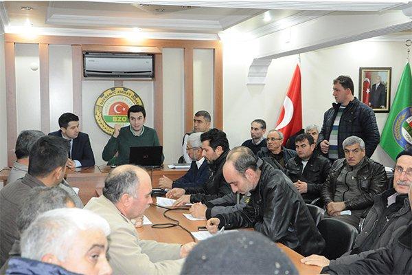 TKDK'dan Bayramiçli arıcılara bilgilendirme toplantısı