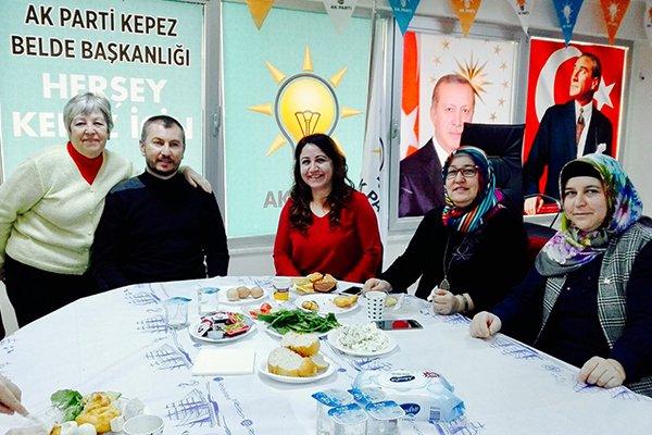 AK Partililer etkinlikte buluştu