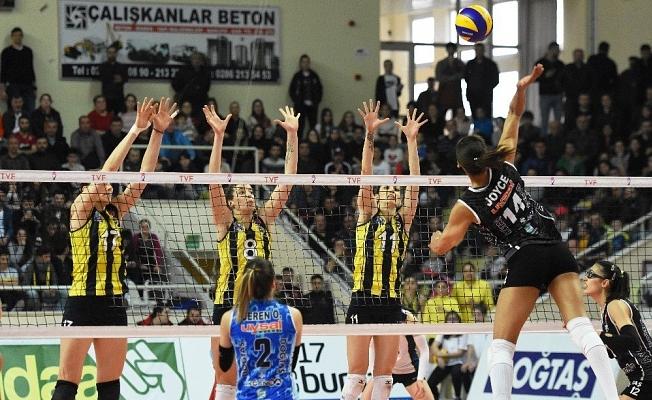 Çanakkale Belediyespor:1  Fenerbahçe:3