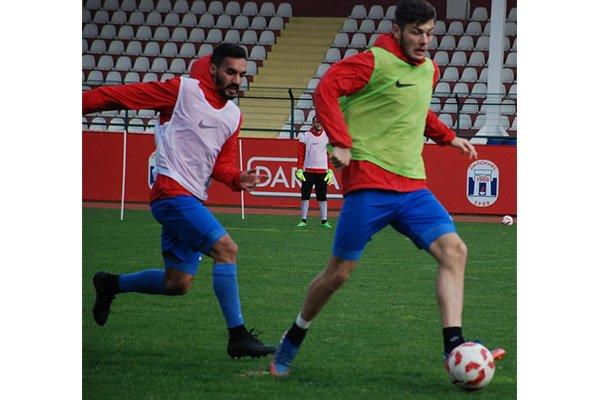 Dardanelspor sıkı çalışıyor