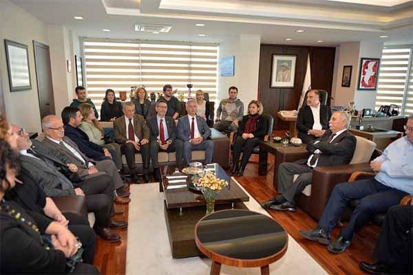 Güneşhan'dan Başkan Gökhan'a iade-i ziyaret…