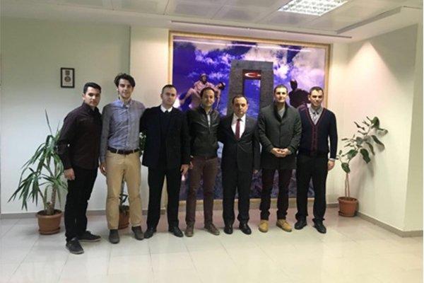 Hakemlerden Ercan'a ziyaret