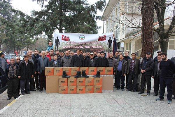 Kalkım Belediyesi'nden Mehmetçiğe destek