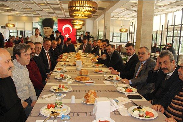 MHP Çan İlçe Başkanlığından dayanışma kahvaltısı