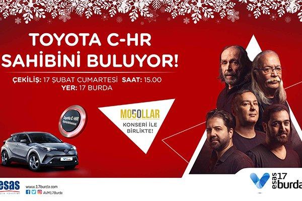 Toyota C-HR sahibini buluyor…