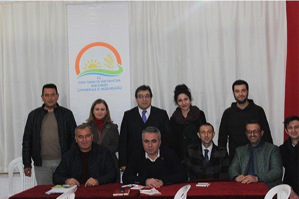 Üreticiler Erenköy'de toplandı