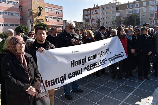Abdullah Akın'ı kentimizde istemiyoruz