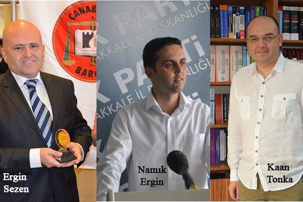 AK Parti'de İl Başkanlığına 3 Avukat