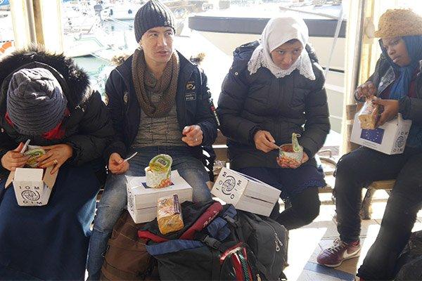 Ayvacık'ta 32 mülteci yakalandı