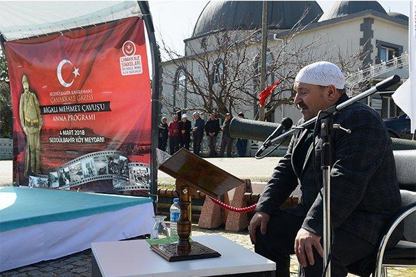 Bigalı Mehmet Çavuş törenle anıldı