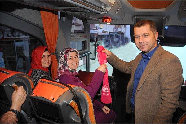 Çanlı kadınlara ücretsiz Bursa gezisi