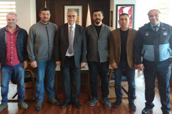 Kocatepespor'dan Başkan Gökhan'a teşekkür