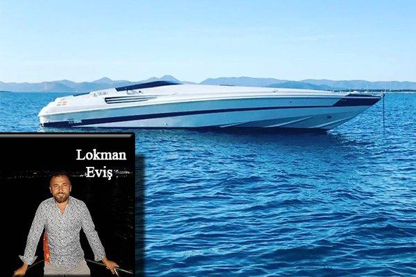 Lokman Eviş'in Yeni Motor Yatına Kavuştu