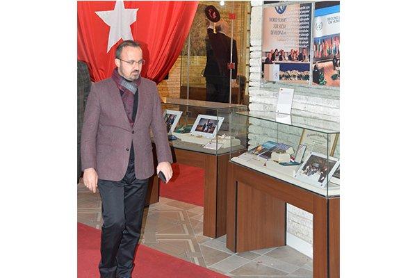 Turan Isparta'da müzeyi inceledi