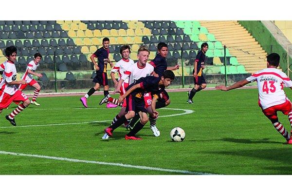 U14'ler Eceabat stadında