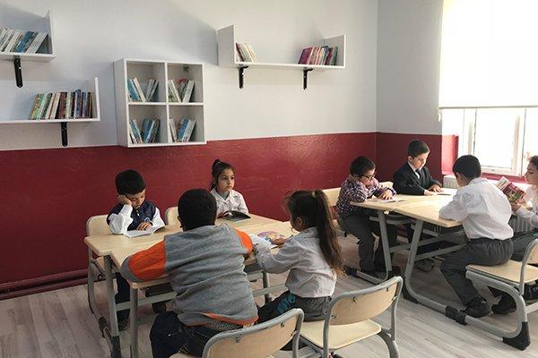 UEDAŞ'tan 12. kütüphane Ezine'ye