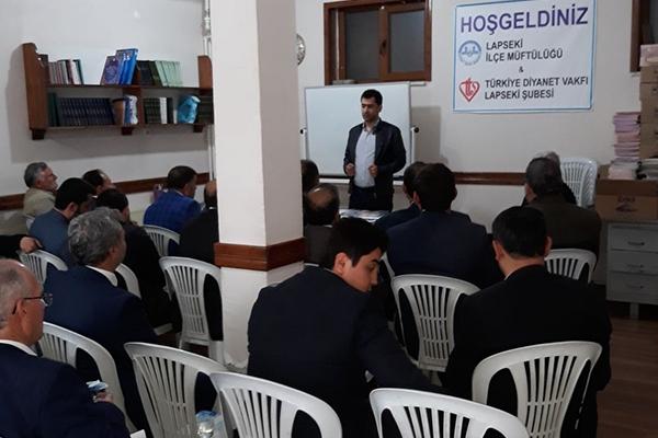 Lapseki'de Kırım Kongo Eğitimi