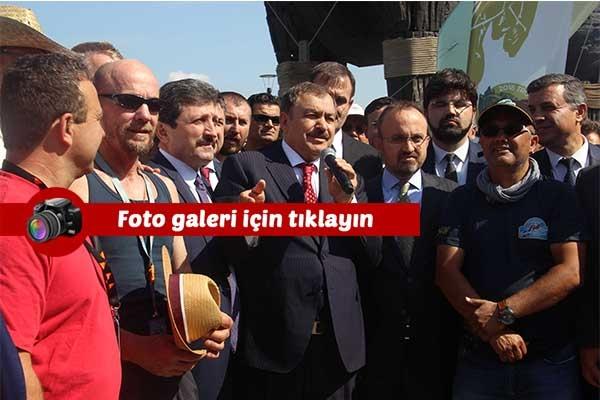 """Bakan Eroğlu: """"En çok kişi başına yatırım yapılan yer Çanakkale'dir"""""""