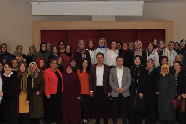 Başkan Kuzu AK kadınlarla buluştu