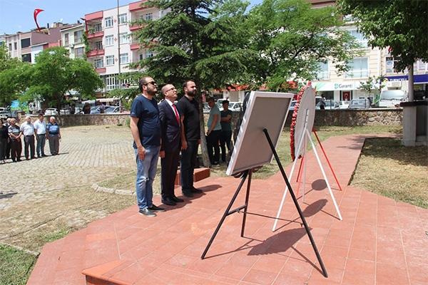 Çan'da CHP ve ADD'den 19 Mayıs Kutlama Töreni