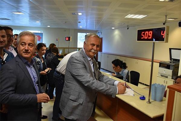 CHP İl Yönetimi'nden İnce'ye destek