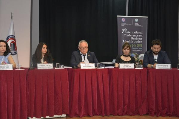 ÇOMÜ'de 7. Uluslararası İşletme Yönetimi Kongresi
