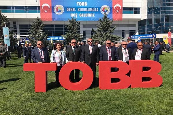 ÇTSO, TOBB 74. Genel Kurulu'na katıldı