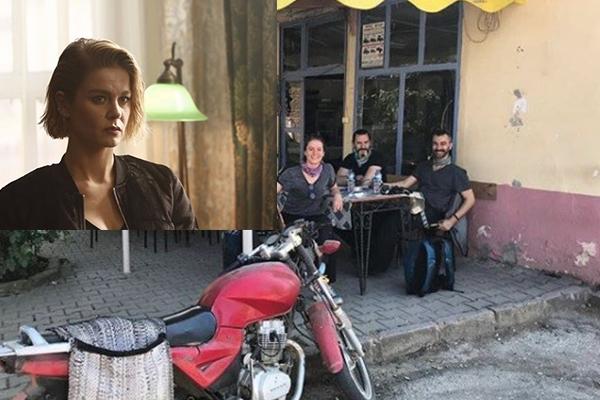Ünlü oyuncu Kaz Dağları'nda kaza geçirdi