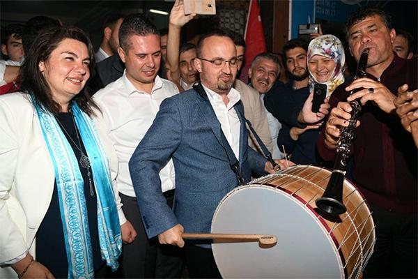 AK Parti birinci parti oldu