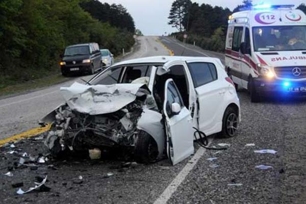 Çanakkale'de bin 569 trafik kazası