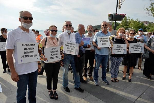 Çevre Günü'nde altıncılara protesto