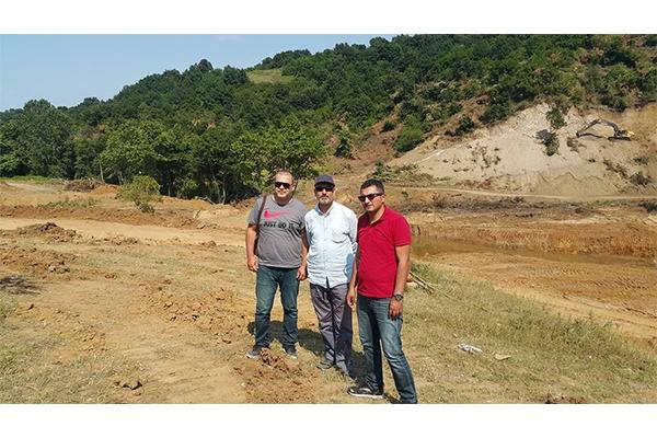 Güreci Göleti inşaat çalışmaları sürüyor