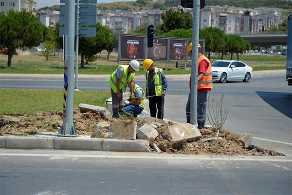Bölge Trafik Kavşağı'nda yeni düzenleme