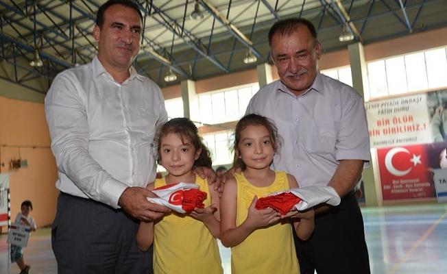 Ezine'de spor okulları start verdi