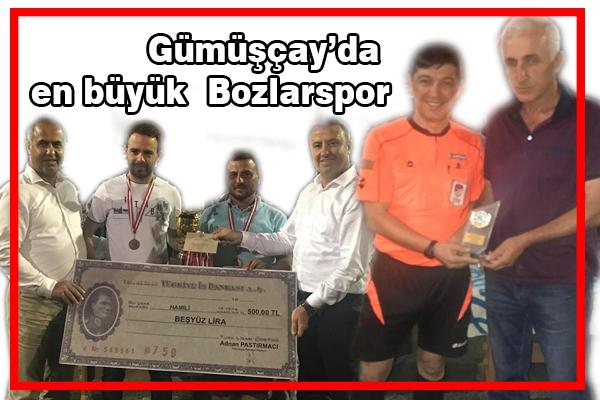 Gümüşçay'da en büyük Bozlarspor