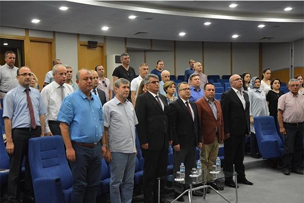 İş dünyası temsilcileri toplantıda buluştu