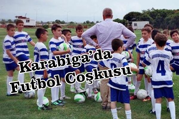Karabiga'da Futbol Coşkusu