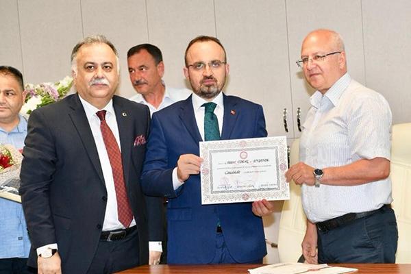 Bülent Turan, CHP'yi eleştirdi