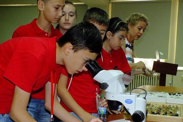 TÜBİTAK Yaz Bilim Kampı devam ediyor